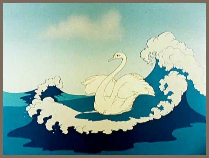 Лебедь из сказки пушкина
