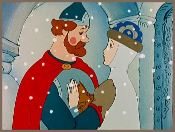 Сказки Пушкина. Царь Салтан, с женой простяся...