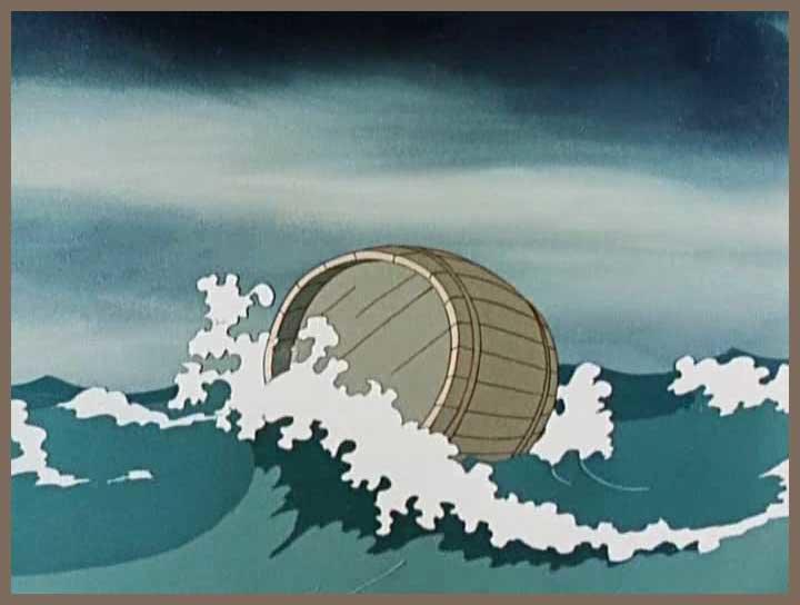 пушкин лодка по морю плывет