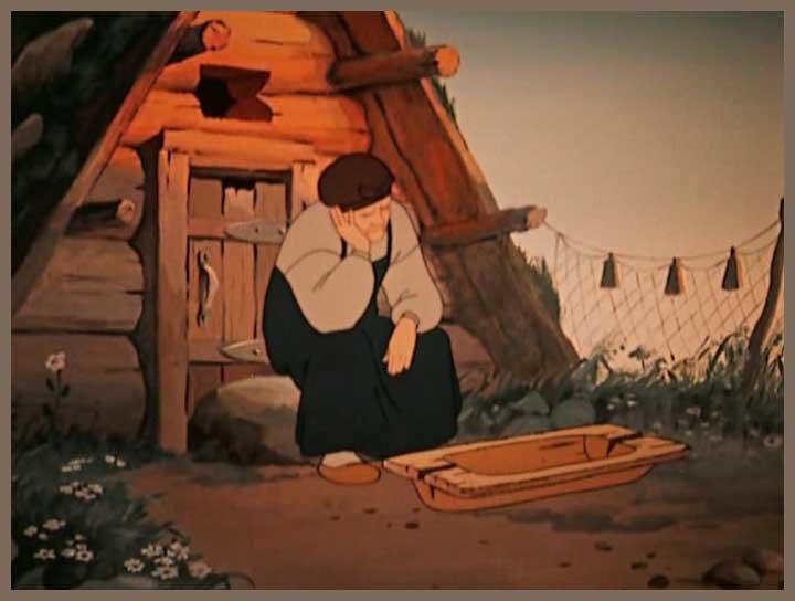 Картинки к сказке о рыбаке и рыбке